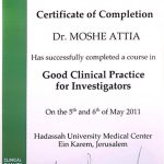 diploma for clinical practice